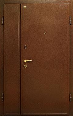металлические двери двустворчат