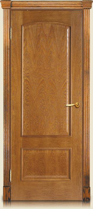 Цвет двери золотой дуб фото